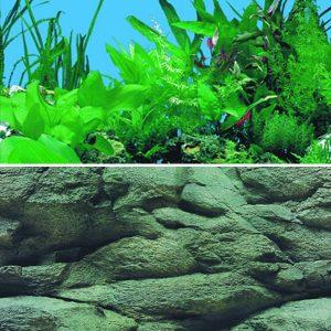Plant / Rock Background 60cm High