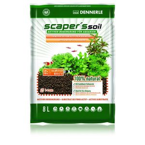 Dennerle Scapers Soil 1-4mm 8L - Black