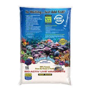Bio-Activ Reef Sand Natural White 10lb